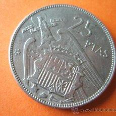 Monedas Franco: +MONEDA DE ESPAÑA-25 PESETAS-1957*65-28 MM.D-.. Lote 37913516