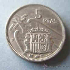 Monedas Franco: +MONEDA DE ESPAÑA-5 PESETAS-FRANCO-1957*58-.. Lote 37923094