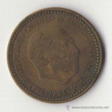 Monedas Franco: 1 PESETA DE 1953 *54 MUY ESCASA. Lote 38700884
