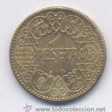 Monedas Franco: 1 PESETA-1944- SC-/SC. Lote 38896008