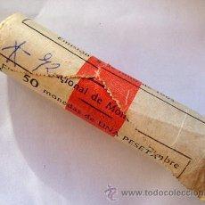 Monedas Franco: CARTUCHO . ESTADO ESPAÑOL. 1 PESETA 1966 *72 . FNMT. ORIGINAL. Lote 39280057