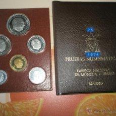 Monedas Franco: *CARTERA PRUEBAS NUMISMÁTICAS ESPAÑA-1974-ORIGINALES-NUEVAS. Lote 39333272