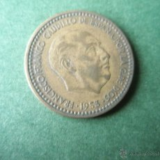 Monedas Franco: MONEDA DE ESPAÑA-1 PESETA-FRANCO-1953*61--.. Lote 39485796