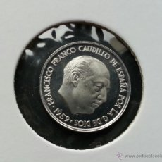 Monedas Franco: ## 10 CENT DE 1959 PRUEBA ##. Lote 40016181