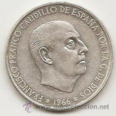 Monedas Franco: 1966 ESPAÑA. 100 PESETAS DE FRANCO *70. EBC+ O SC-. Lote 40158734
