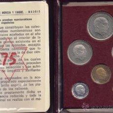 Monedas Franco: FRANCO: CARTERA MONEDAS 1975 - FDC. Lote 50631925