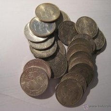 Monedas Franco: LOTE 50 MONEDAS 100 PESETAS 1966*70 PLATA INVERSION. Lote 40945966