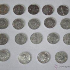 Monnaies Franco: LOTE DE MONEDAS DE 50 CENTIMOS. Lote 41573277