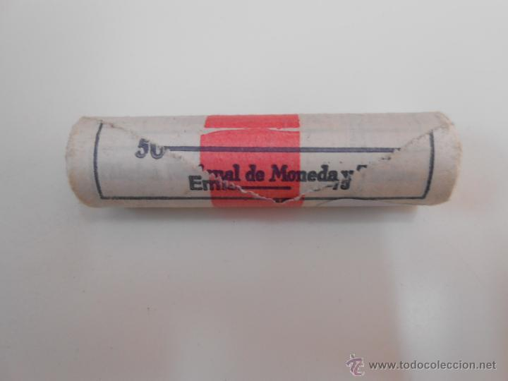 Monedas Franco: LOTE DE 50 MONEDAS ANTIGUAS DE 1 PESETA. EMISION 19-12-1975. FABRICA NACIONAL DE MONEDA Y TIMBRE - Foto 2 - 42761441