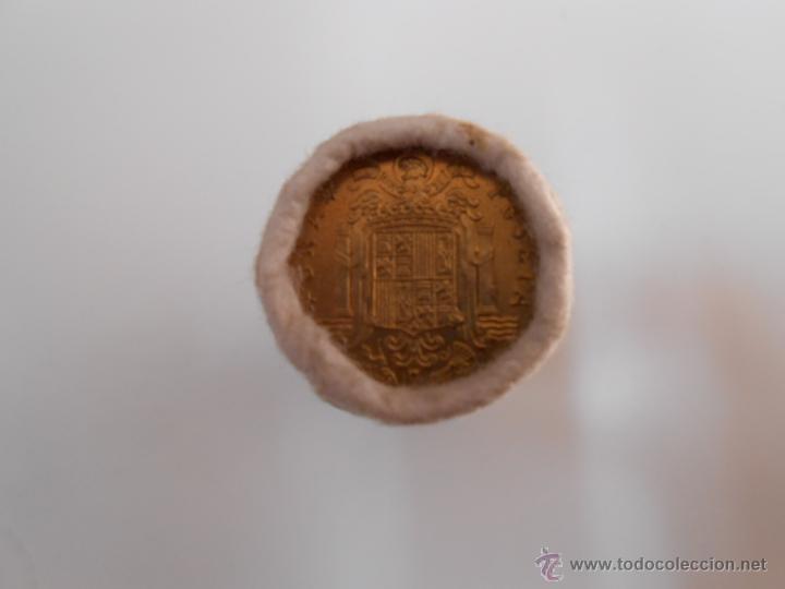 Monedas Franco: LOTE DE 50 MONEDAS ANTIGUAS DE 1 PESETA. EMISION 19-12-1975. FABRICA NACIONAL DE MONEDA Y TIMBRE - Foto 3 - 42761441
