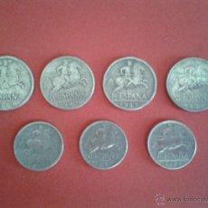 Monedas Franco: LOTE DE 7 MONEDAS DE 5 Y 10 CÉNTIMOS. SIN LOS 5 DEL 53. OPORTUNIDAD.. Lote 43145077