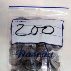 Monedas Franco: LOTE DE 200 MONEDAS 50 CENTIMOS 1949 Y 1963 , AGUJERO , YUGO FLECHAS , ORIGINALES. Lote 101407179