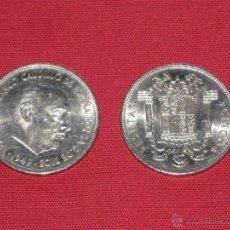 Monedas Franco: DOS MONEDAS DE FRANCO DE 5 PESETAS DE 1949 - UNA ESTRELLA 19-49 Y OTRA 19-50. Lote 43925421