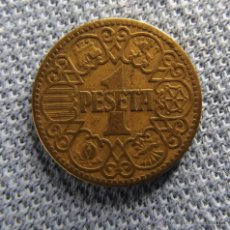 Monedas Franco: MONEDA 1 PESETA 1944. Lote 43962143
