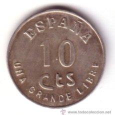 Monedas Franco: ESPAÑA 10 CENTIMOS 1938 PLATA PRUEBA BURGOS III AÑO TRIUNFAL UNA GRANDE LIBRE *NUMISBUR*. Lote 44902064