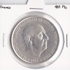 Monedas Franco: 100 PESETAS 1966-70 FRANCO. Lote 45535191