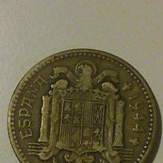 Monedas Franco: MONEDA DE UNA PESETA DE FRANCO DE 1944. Lote 45576967