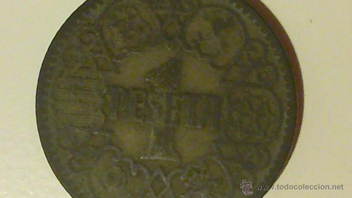 Monedas Franco: MONEDA DE UNA PESETA DE FRANCO DE 1944 - Foto 2 - 45576967