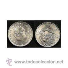 Monedas Franco: MONEDA FRANCO 25 PESETAS 1957 * 68. Lote 46157432