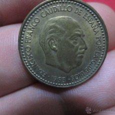 Monedas Franco: 1 PESETA 1953 ESTRALLAS19 56 EBC. Lote 46632616