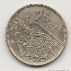 Moedas Franco: ESTADO ESPAÑOL - ETAPA FRANQUISTA 1975 25 PESETAS NIQUEL ESTRELLA *57 NL342. Lote 46672789