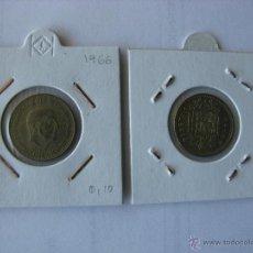 Monedas Franco: MONEDA/MONEDAS 1 PESETA 1966. ESPAÑA.. Lote 46723057