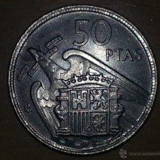 Monedas Franco: 50 PESETAS 1959 EBC. Lote 47143521
