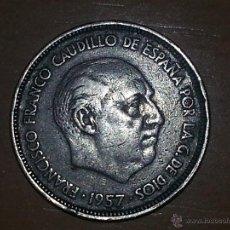 Monedas Franco: 25 PESETAS 1958 MBC+ EBC. Lote 47145264