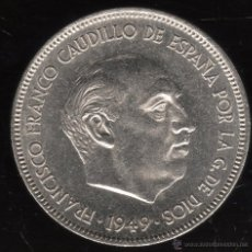 Monedas Franco: MONEDA DE CINCO PESETAS. FRANCISCO FRANCO. E-51. S/C-.. Lote 23407642