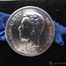 Monedas Franco: AMADEO I 5 PRAS 1871. Lote 48382292