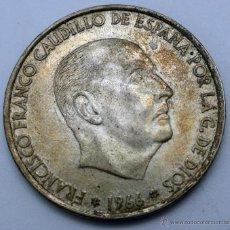 Monedas Franco: MONEDA PLATA FRANCO 100 PESETAS 19 - 66 1966. Lote 48572594