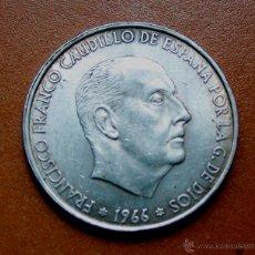 Monedas Franco: MONEDA DE CIEN PESETAS 100 PESETAS DE FRANCO EN BUEN ESTADO 1966-66. Lote 48731391