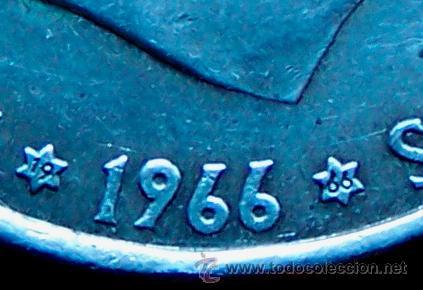 Monedas Franco: Moneda de cien pesetas 100 pesetas de franco en buen estado 1966-66 - Foto 3 - 48731391