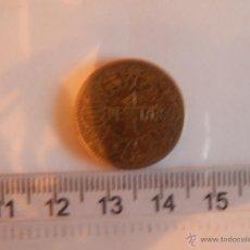 Monedas Franco: 1 PESETA 1944 MBC. Lote 49202414