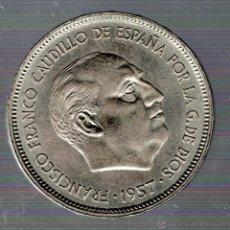 Monedas Franco: FRANCO. 25 PESETAS. 1957. BA. S/C. EXPOSICION BARCELONA. Lote 49241722