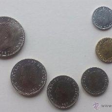 Monedas Franco: LOTE ESPAÑA 82 MUNDIAL DE FUTBOL MONEDAS 100,50,25,5,1,0,50 PESETAS LUJO. Lote 49665770