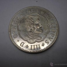 Monedas Franco: MEDALLA DE PLATA REY FELIPE IV. XI CONVENCIÓN NUMISMATICA. 1975. Lote 49672880
