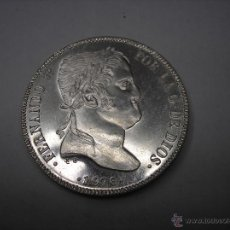 Monedas Franco: MEDALLA DE PLATA REY FERNANDO VII . XIII CONVENCIÓN NUMISMATICA. 1976. Lote 49673079