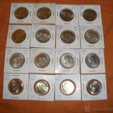 Monedas Franco: LOTE DE 16 HERMOSAS PIEZAS SIN CIRCULAR 12 DE 50 PTS Y 4 DE 25 VER FOTO QUE NO TE FALTE EN TU COLECC. Lote 50348964