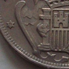 Monedas Franco: MONEDA 50 PESETAS FRANCO 57 ESTRELLA 71 SOLO DOS PLUMAS EN EL ALA. Lote 76932458