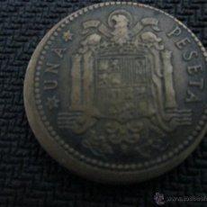 Monedas Franco: PESETA 1963 CON CUÑO DESPLAZADO . Lote 51651010