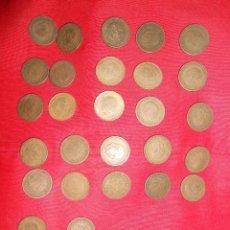 Monedas Franco: LOTE DE 27 PESETAS FRANCO -AÑOS 1947 -63 Y 66. Lote 51765947