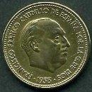 Monedas Franco: ESPAÑA 2,5 PESETAS AÑO 1953 * 1954 ( DICTADOR FRANCISCO FRANCO - MONEDA DEL FRANQUISMO ) Nº3. Lote 168965534