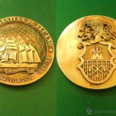 Monedas Franco: MONEDA, MEDALLA DE JUAN SEBASTIAN DE ELCANO.. Lote 52456173