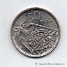 Monnaies Franco: FRANCO. 50 PESETAS. AÑO 1957 *58. SIN CIRCULAR.. Lote 52702805
