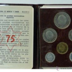 Monedas Franco: ESPAÑA CARTERA OFICIAL FNMT 1975 PROOF FRANCISCO FRANCO. Lote 195151927