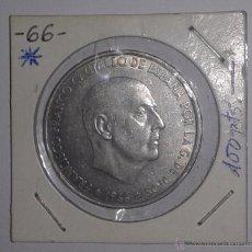 Monedas Franco: MONEDA DE CIEN (100) PESETAS 1966_66 PLATA 800 MILÉSIMAS BC. Lote 53862976