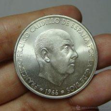 Monedas Franco: 100 PESETAS. FRANCO. PLATA. 1966 *19 *67. SC-. Lote 53962767