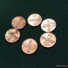 Monedas Franco: MONEDA FRANCO 50 CTS 1968. Lote 53964829