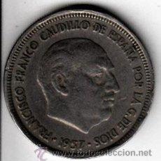 Monedas Franco: FRANCO. 5 PESETAS. 1957 *71. BC. Lote 54016574